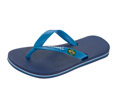 Ipanema Flag II Mens Beach Flip Flops / Sandals - Navy Blue