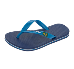 Ipanema Kids Classic Brazil Unisex Flip Flops / Sandals - Blue and Navy