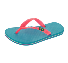 Ipanema Rio II Kids Flip Flops / Sandals - Blue Pink