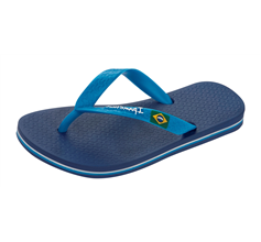 Ipanema Rio II Kids Beach Flip Flops / Sandals - Navy and Blue