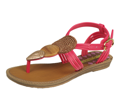 Grendha Dance Girls Beach Flip Flops / Sandals - Pink