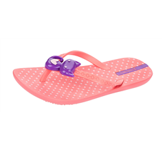 Ipanema Kitty Girls Beach Flip Flops / Sandals - Light Pink