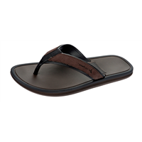 Rider Majorca Mens Flip Flops / Sandals - Brown Black