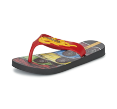 Ipanema Hot Wheels Tyre Kids Flip Flops - Red