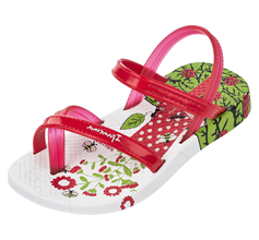 Ipanema V Baby Flip Flops / Infant Sandals - Red