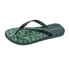 Ipanema Parati II Mens Beach Flip Flops / Sandals - Green