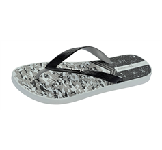 Ipanema Parati II Mens Beach Flip Flops / Sandals - Grey and Black