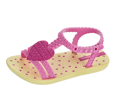 Ipanema My 1st Sandals Baby / Infant Sandals - Yellow and Pink