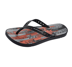 Ipanema Arpoador Mens Beach Flip Flops / Sandals - Black