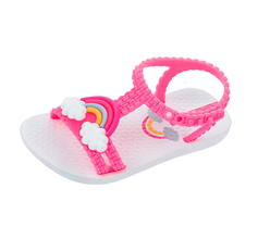 Baby My First Ipanema Rainbow Sandals Infant Girl Flip Flops - Pink