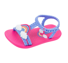 Baby My First Ipanema Rainbow Sandals Infant Girl Flip Flops - Violet