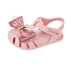 Zaxy Baby Glamour Bow Girls Toddler Sandals - Blush