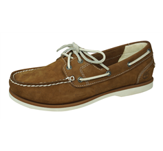 Timberland 2 Eye Boat Womens Suede Leather Deck Shoes - Brown