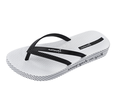 Ipanema Bossa Soft 21 Womens Beach Flip Flops / Sandals - Black