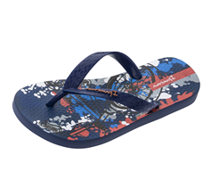 Ipanema Classic 21 Kids Beach Flip Flops / Sandals - Navy