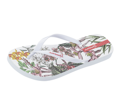 Ipanema Botanicals Scent Womens Beach Flip Flops / Sandals - White