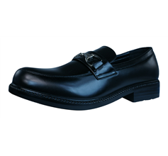 On and Off Mens Slip on Shoes  - Black