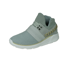 Supra Catori Womens Casual Trainers / Mid Tops - Light Grey