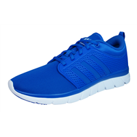 adidas Neo Cloudfoam Groove Mens Running Trainers / Shoes - Blue