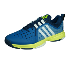adidas Barricade Classic Bounce Mens Tennis Trainers / Shoes - Blue
