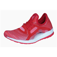 Womens adidas Running Trainers Pureboost X Fitness Shoes - Red