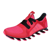 Womens adidas Running Trainers Springblade Nanaya Fitness Shoes - Red