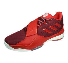 adidas D Rose Englewood Boost Mens Basketball Trainers - Red