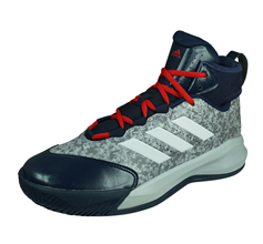adidas Rim Reaper 2015 Mens Basketball Trainers / Hi Tops - Grey and Blue