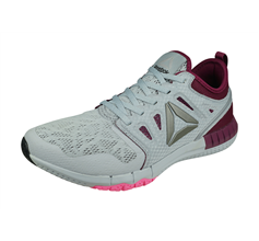 Reebok Zprint 3D Womens Running Shoes / Trainers - Grey