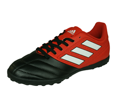 76ac24452345 adidas Ace 17.4 TF Boys Astro Turf Football Trainers - Red and Black