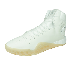 adidas Originals Tubular Instinct Mens Leather Trainers / High Tops - White