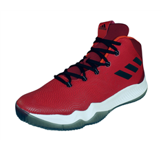 adidas Crazy Hustle Mens Basketball Trainers - Red