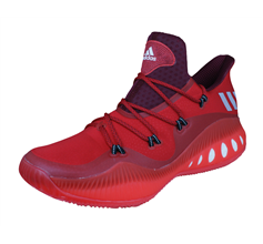 adidas Crazy Explosive Low Mens Basketball Trainers / Shoes - Red