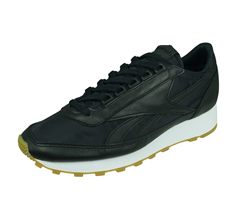 Reebok Aztec Garment and Gum Womens Casual Trainers - Black