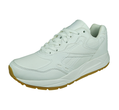 Reebok Classic Bolton Garment and Gum Womens Casual Trainers - White
