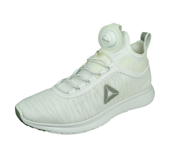 Reebok Pump Plus Flame Womens Running Shoes / Trainers - White