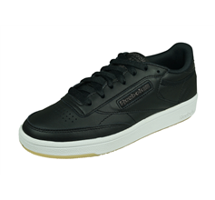 Reebok Club Classic 85 Womens Leather Trainers - Black