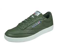 Reebok Club Classic 85 SO Mens Leather Trainers / Sneakers - Green