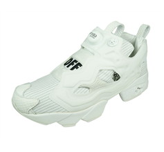 Reebok InstaPump Fury Subliminal Messaging Womens Trainers - White
