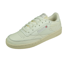 Reebok Club Classic 85 Vintage Womens Leather Trainers - White