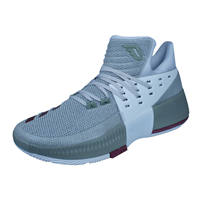 adidas D Lillard Dame 3 Mens Basketball Trainers / Shoes - Grey