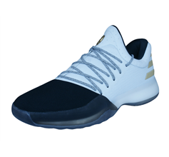 adidas Harden Vol 1 Mens Basketball Trainers / Shoes - White