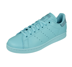 adidas Originals Stan Smith Mens Leather Trainers / Shoes - Light Blue