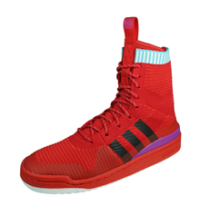adidas Originals Forum Winter PK PrimeKnit Mens Trainer Boots - Red