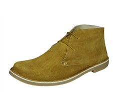 Lambretta Carnaby Mens Suede Desert Boots - Brown