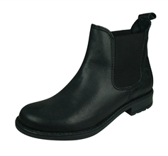 Cool Boys Charlie Leather Chelsea Boots - Black