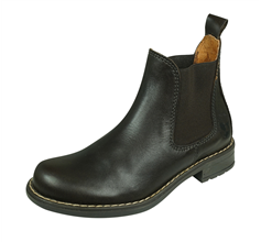 Cool Boys Charlie Leather Chelsea Boots - Brown