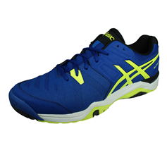 Asics Gel Challenger 10 Mens Tennis Trainers / Shoes - Blue
