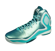 adidas D Rose 5 Boost Mens Basketball Trainers - Turquoise