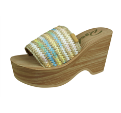 Rocket Dog Hills Hazy Day Womens Wedge Sandals - Natural